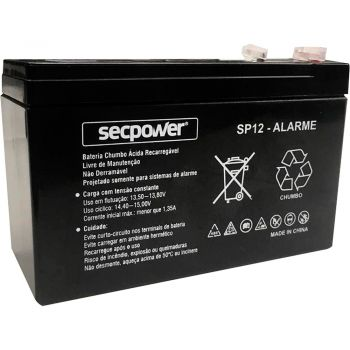 Bateria Selada SP12-ALARME Sec Power