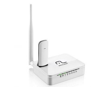 OUTLET – Roteador Wireless 150Mbps Multilaser RE072