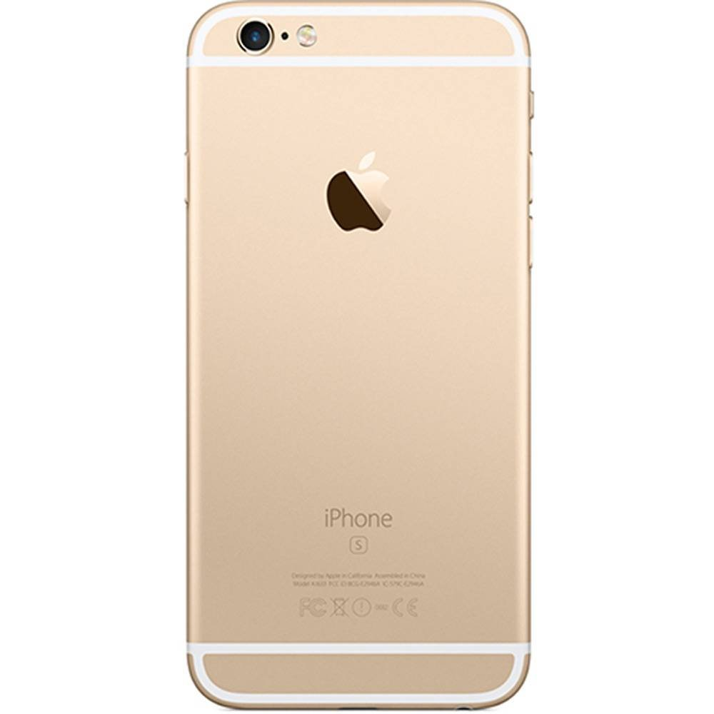 "10f2055b6 ... iPhone 6s Apple 16GB DOURADO 4G Tela 4.7"" - Retina Câm. 12MP + Selfie  ..."