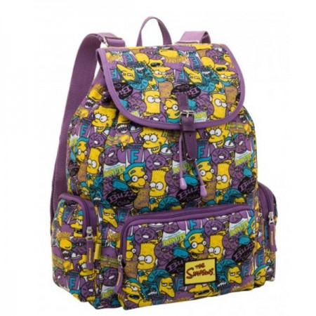 Mochila Grande The Simpsons Squishee Pacifc 7402105
