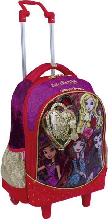 Mochila Grande com Roda Ever After High 17Z Sestini 64575