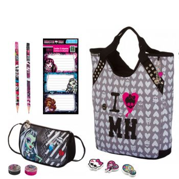 Kit Escolar Monster High