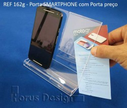 Display Expositor Acrilico para smartphone