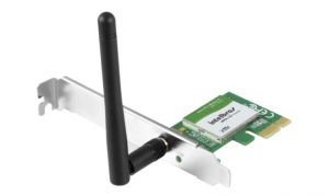 Placa Rede Para Desktop PCI Express 2.0 Wireless Wifi N 150Mbps WPN200 Intelbras