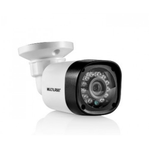 Camera CFTV Bullet AHD 720p 3.6mm 12 Leds SE176 Multilaser