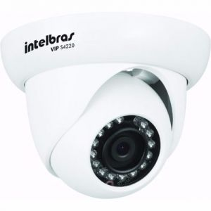Camera CFTV IP Dome S4220 Vip Full HD 1080p Poe Intelbras