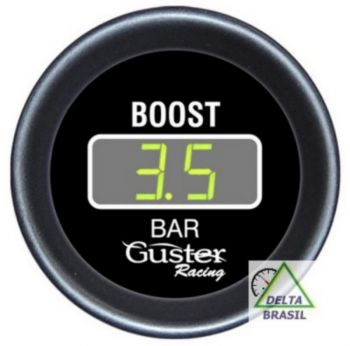 Pressão Turbo Digital 52mm a 5 Bar c/ sensor | GUSTER |