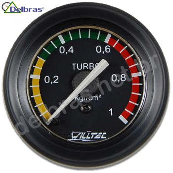Pressão Turbo 1 Kgf/cm² - ø52mm