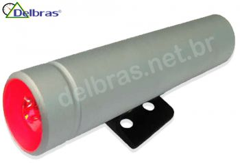 Shift-Light Willtec 19mm - Anodizado - Led Vermelho