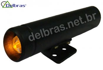 Shift-Light Willtec 19mm - Preto - Led Laranja