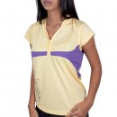 Camiseta Polo Babolat French Jr. Girl Amarela