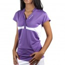 Camiseta Polo Babolat French Jr. Girl Roxa