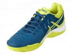 Tênis Asics Gel Resolution 7 Clay Ink Blue Sulphur Spring Masculino  - foto principal 4