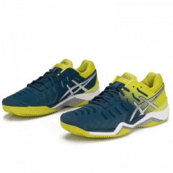 Tênis Asics Gel Resolution 7 Clay Ink Blue Sulphur Spring Masculino  - foto principal 3