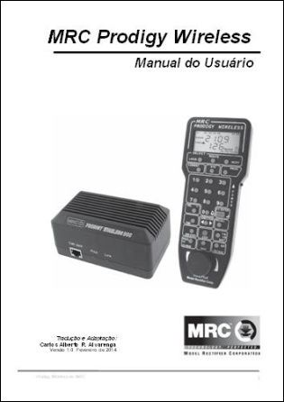 Manual do Usuário do MRC Prodigy Wireless - CARLÃO - MA08