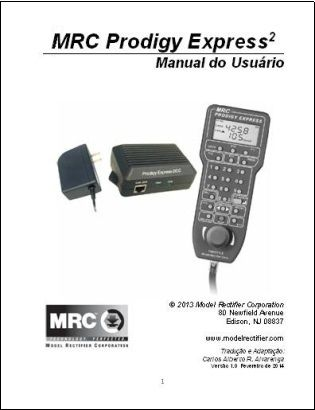 Manual do Usuário do MRC Prodigy Express2 - CARLÃO - MA11
