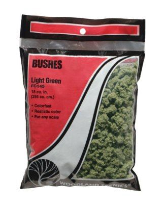 Bushes Light Green - WOODLAND - WOOFC145