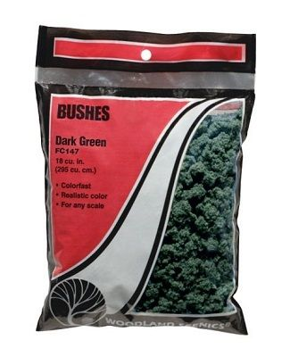 Bushes Dark Green - WOODLAND - WOOFC147