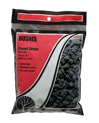 Bushes Forest Green - WOODLAND - WOOFC148
