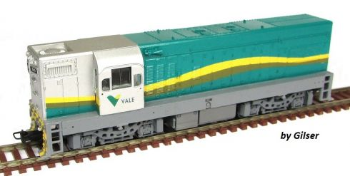 Locomotiva G12 Customizada VALE - CU112