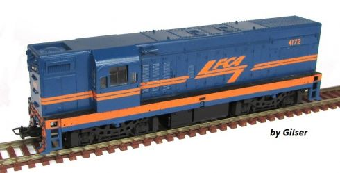 Locomotiva G12 Customizada FCA Fase I - CU126