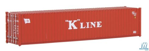 Contêiner 40' K Line - WALTHERS - 949-8253T2