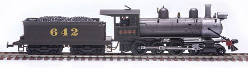 Locomotiva Ten-Wheeler CPEF - FRATESCHI - 3018