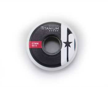Roda Patins Intrépido Titanium 57mm 90A