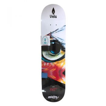 Shape Vela Skateboards Eye Art 7.75