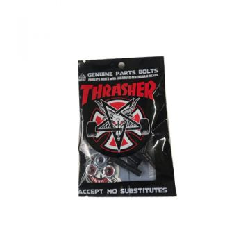 Parafuso Skate Thrasher Phillips Black 1''