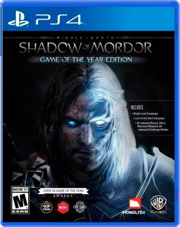 Shadow Of Mordor PS4