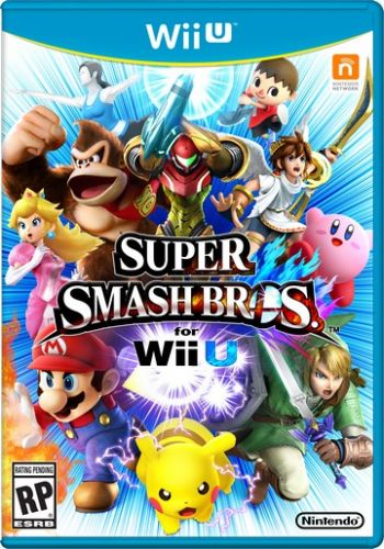 Super Smash Bros WiiU Seminovo