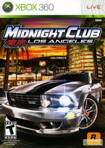 Midnight Club 3 Los Angeles Xbox 360