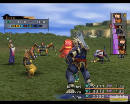 FINAL FANTASY X/X-2 HD Remaster PS Vita  - foto principal 2