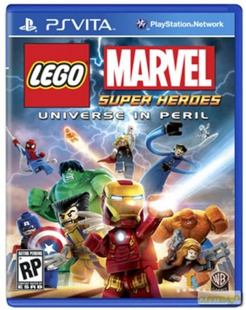 LEGO Marvel Super Heroes Videogame PS Vita