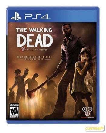 The Walking Dead Game of the Year - First Season -Plus 400 Days - PS4