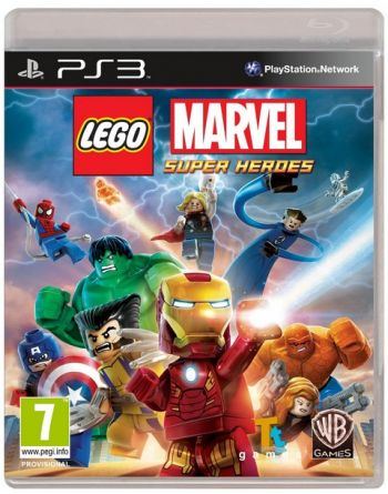 LEGO Marvel Super Heroes Videogame PS3