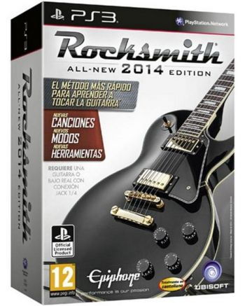 ROCKSMITH  2014 - Com Cabo Adaptador para PS3