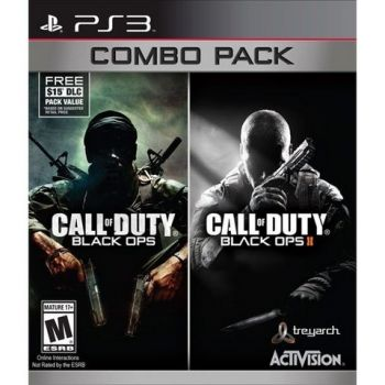 Call of Duy: Black OPS Combo Pack - PS3