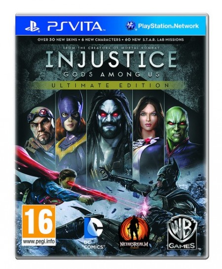 Injustice: Gods Among Us Ultimate Edition - PS Vita  - foto principal 1