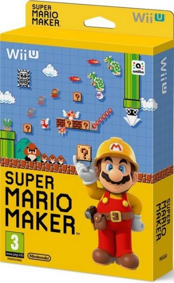 Super Mario Maker Seminovo - Wii U