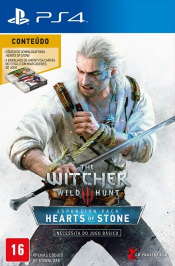 Witcher 3 Wild Hunt Hearts of Stone - PS4