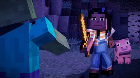 Minecraft: Story Mode - Season Pass - PS4  - foto principal 4