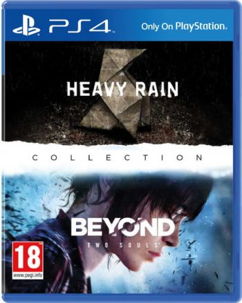 Heavy Rain+ Beyond: Two Souls - PS4