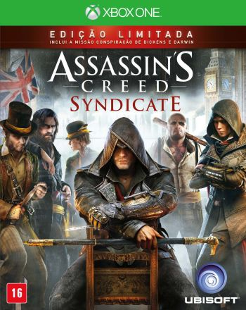 Assassins`s Creed Syndicate Edição Limitada com camiseta- Xbox One