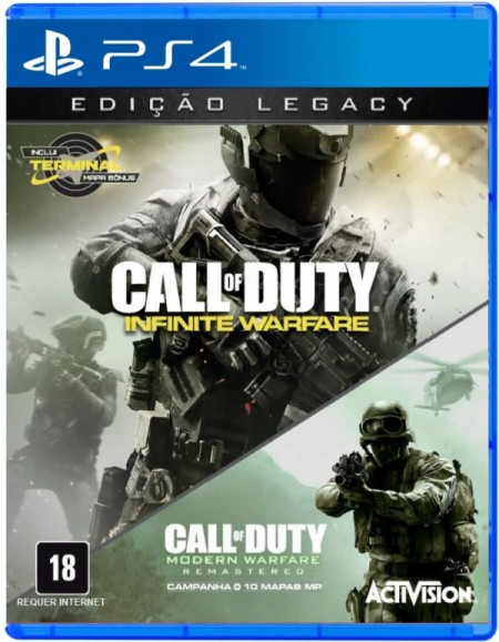 Call of Duty®: Infinite Warfare+Modern Warfare - PS4  - foto principal 1