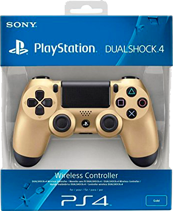 Controle Dual Shock 4 Gold-PS4