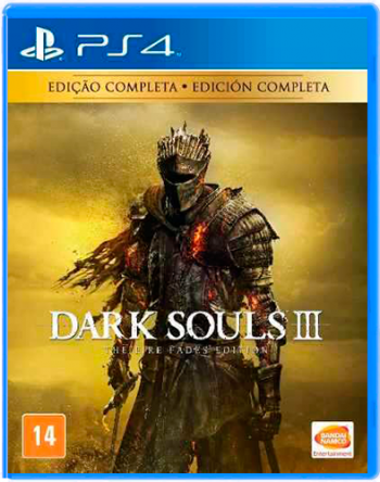 Dark Souls 3 The Fire Fades Ediçao completa - PS4