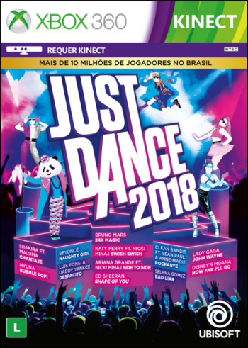 Just Dance 2018 - Xbox 360