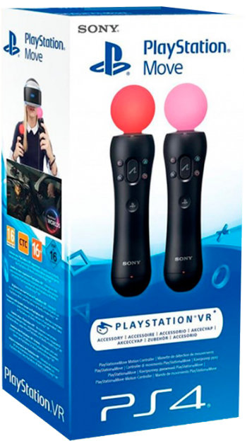 Kit 2 PS Move - PS4/PS-VR